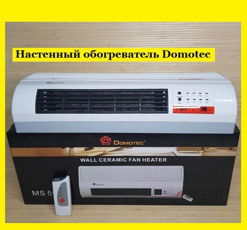 Обогреватель настенный, тепловентилятор Domotec как конвектор