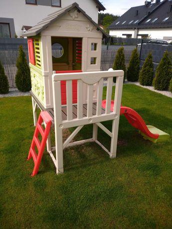 Domek ogrodowy dla dzieci Smoby + piaskownica gratis Little Tikes pień