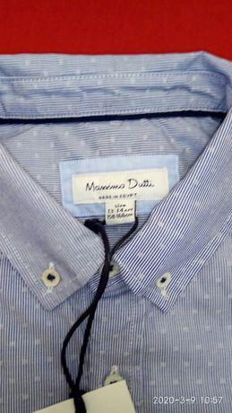 Massimo Dutti. Рубашка на мальчика, 13-14 лет