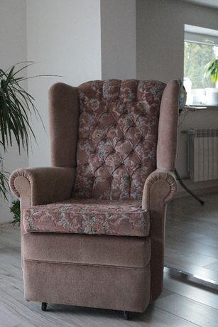 Wygodny fotel uszak