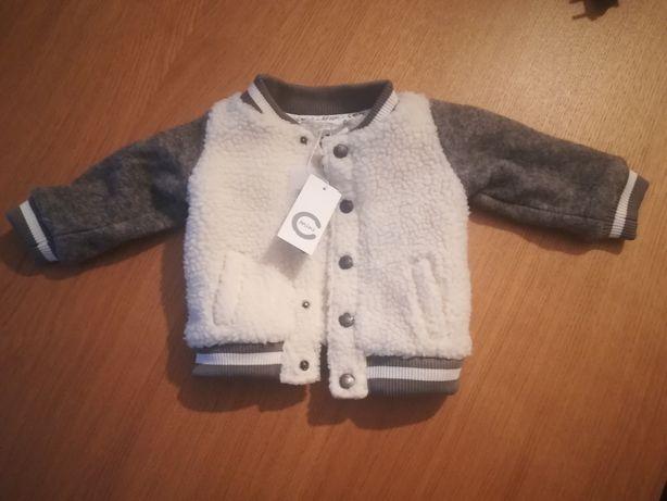 Cubus nowa kurtka bluza wełna wełniana scandi