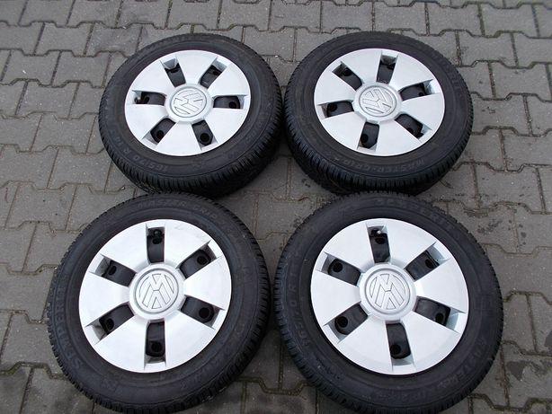 Opony zimowe z felgami 4x100 5Jx14 ET35 VW,SKODA,SEAT ,(K1)