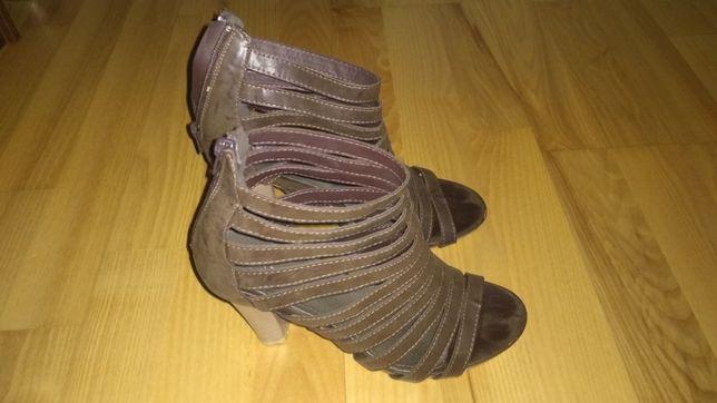 Brązowe sandały rozmiar 39