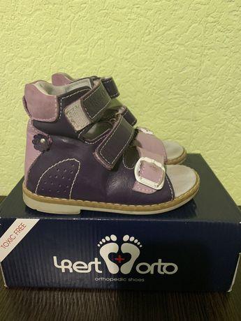 Детские ортопедические сандалии, босоножки, летняя обувь для девочки