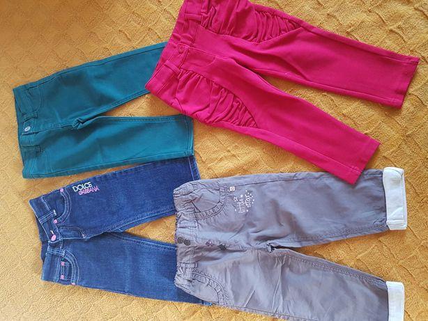4 pary spodni na 80