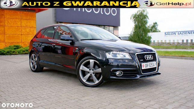 Audi A3 1,8 160ps, Sline, Manual, Xenon, Navi, Serwis, Szwajcar,