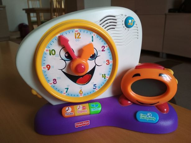 Zegar Fisher Price