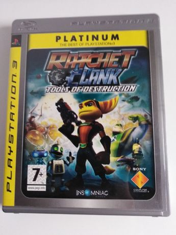 Ratchet & Clank Tools of Destruction - PS3 - tania wysyłka