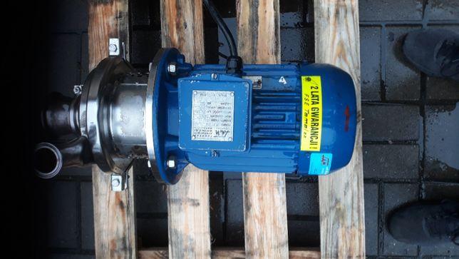 Pompa spożywcza nierdzewka kwasówka 3 kW