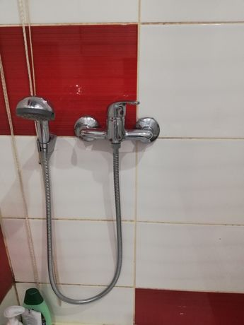 Kran z prysznicem