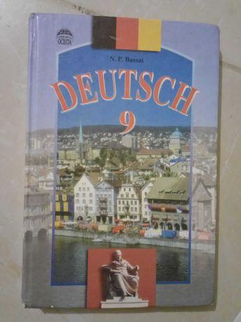 Підручник Німецька мова, 9 клас. Київ-2002