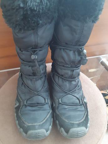 Ботинки на девочку зимние
