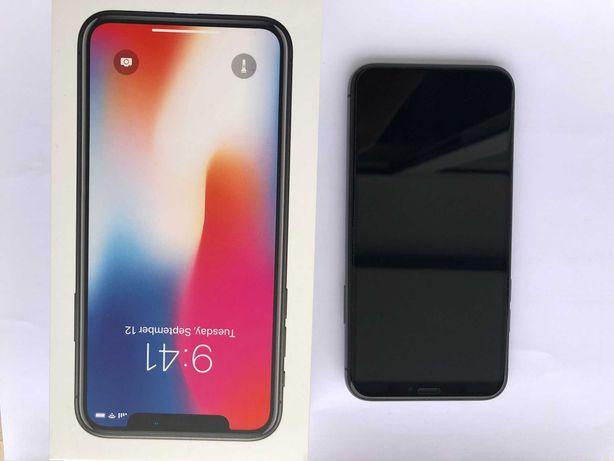 Vendo iPhone X, preto, 64GB como novo