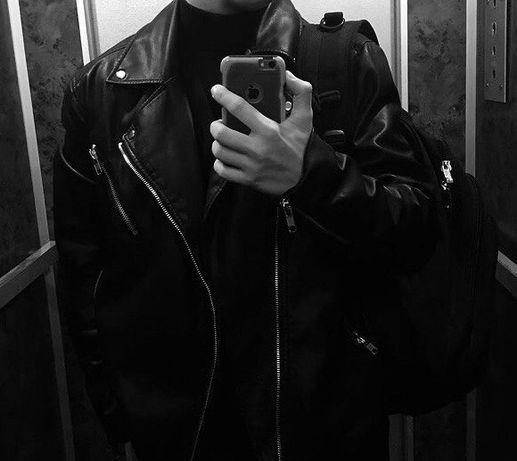 Куртка/кожанка/косуха H&M натуральная кожа