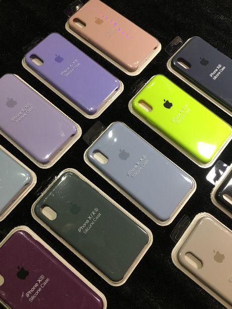 Orginalne Silikonowe Etui Apple   CASE DO IPHONE X / XS / 11