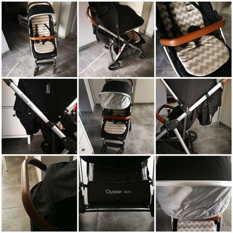 Wózek babystyle OYSTER ZERO czarny, spacerówka