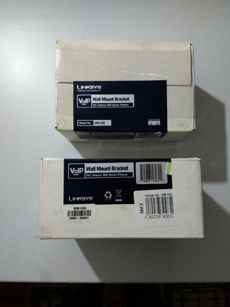 Suportes de parede para telefones Linksys serie 900 NOVOS