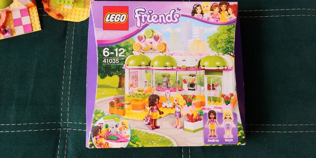 Klocki Lego Friends Bar z sokami 41035 3 figurki
