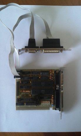 Raro Placa 8bit Porta paralela e série