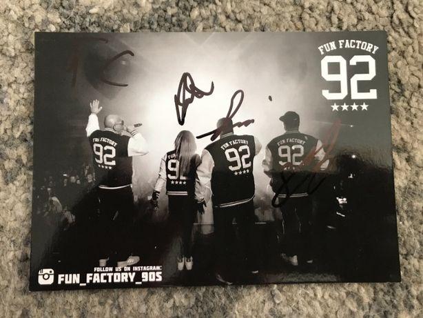 Fun Factory - autografy