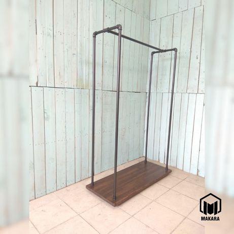 №12 Вешалка loft мебель лофт стойка торговое оборудование из труб