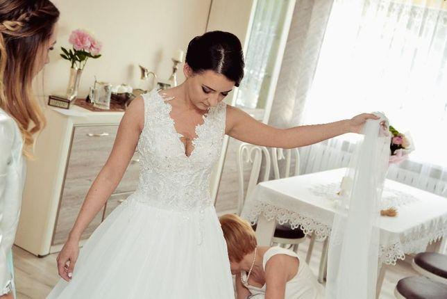 OKAZJA!!! Suknia ślubna Rawija. Gala .
