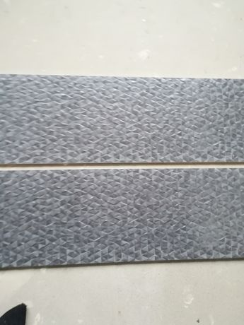 Evo art acero 30x90, gres, dekor, ozdobna, szara.