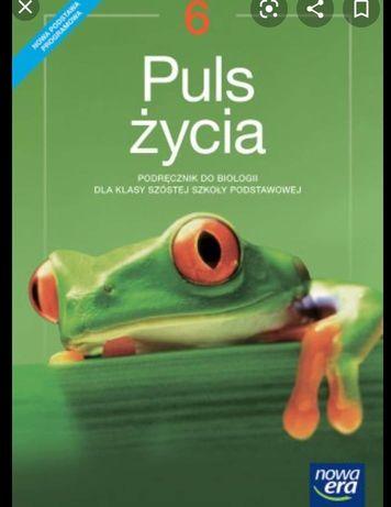 Puls Życia 6 klasa podręcznik do biologii książka testy