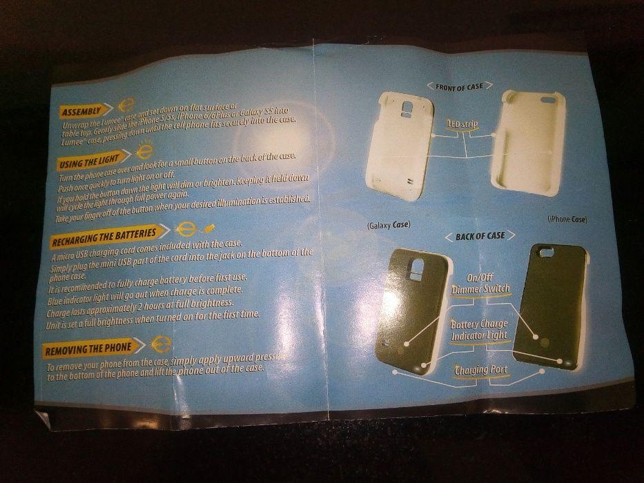 vendo capa para iPhone com luz incorporada