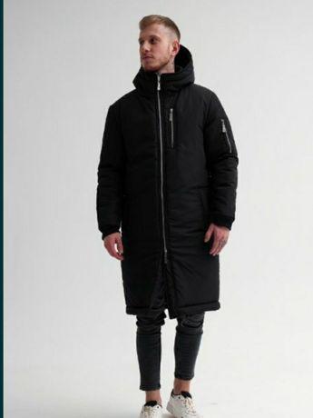 Куртка Парка длинная Зима мужская