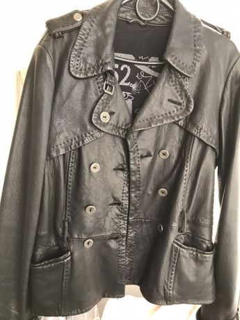 Куртка кожаная мягкая