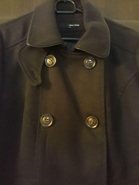 Płaszcz czarny 42