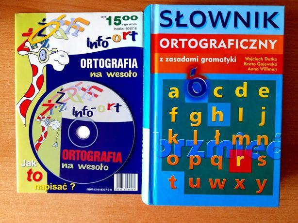Słownik ortograficzny i ortografia na wesoło