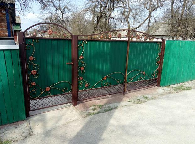 Ворота калитка ворота распашные
