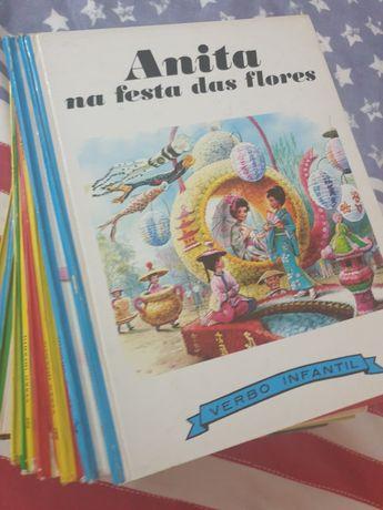 Livros verbo infantil anita