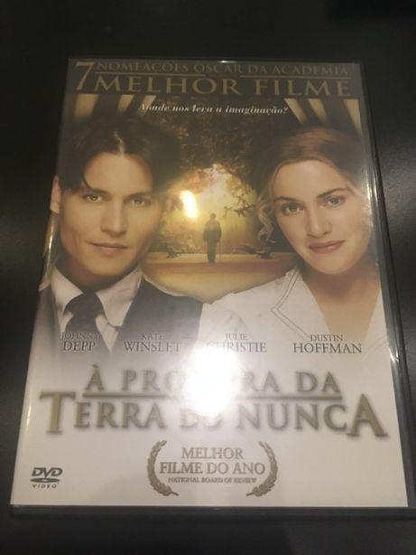 "DVD ""Á Procura da Terra do Nunca - Finding Neverland"""