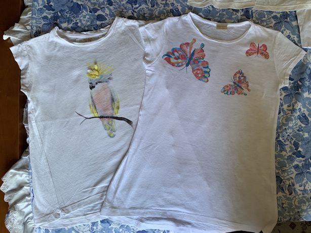 T-shirts menima 8 anos, 128cm