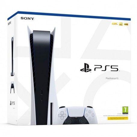 Consola Sony Playstation 5 [PS5) Edição Standard + Dois Jogos PS5