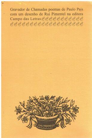 11352 Gravador de chamadas : poemas de Paulo Pais