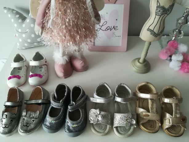 Buciki baletki sandałki dla dziewczynki r 20 23 ccc Lasocki neli Blue
