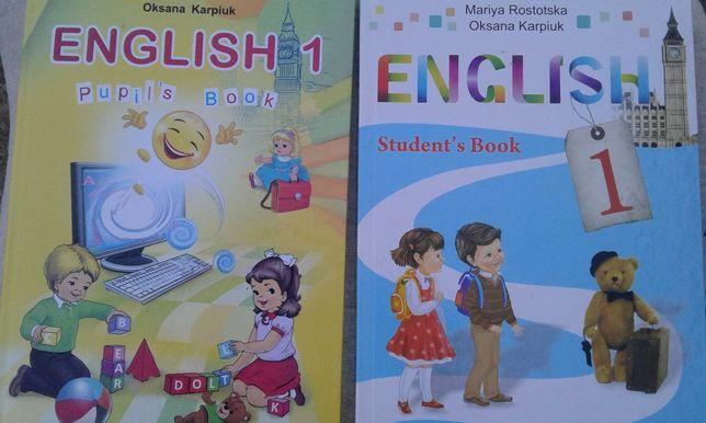 Учебники английского языка 1,2,7 класс, новые
