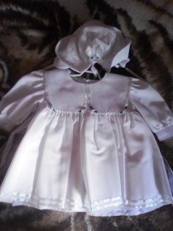 Nowe ubranko do chrztu dla dziewczynki