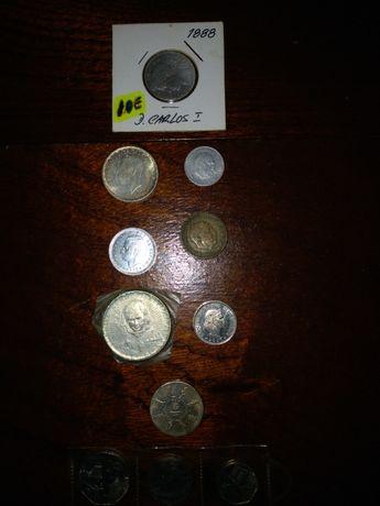 Lote de 11 moedas antigas