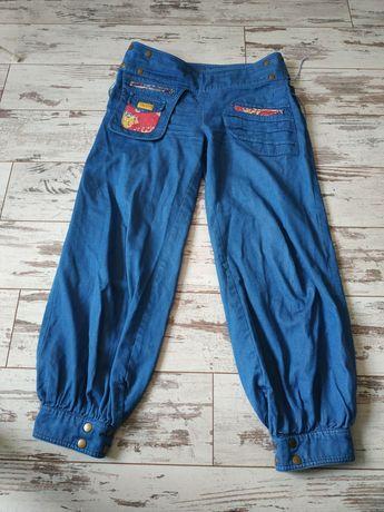 Niepowtarzalne dwustronne spodnie L/XL