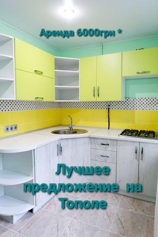 Аренда 1 к.квартиры Тополь Запорожское шоссе Терра