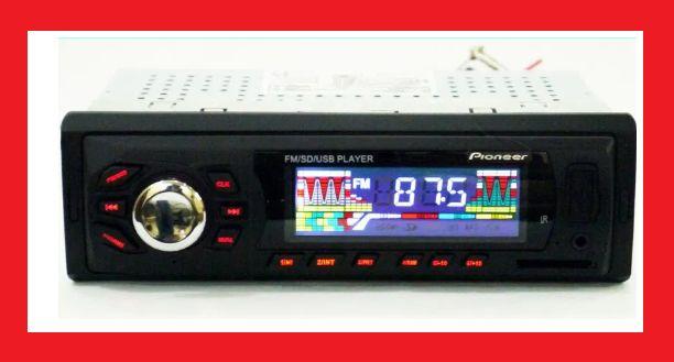 Автомагнитола Pioneer 6248 Usb+Sd+Fm+Aux