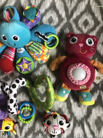 Duzy zestaw zabawek lamaze stan idealny