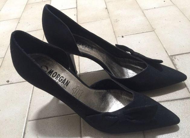 Sapatos Salto Pretos Morgan 39