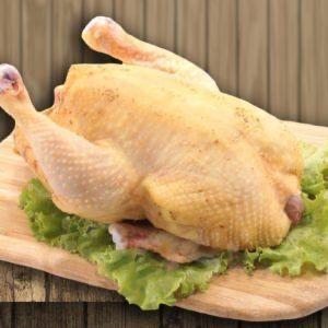 Домашня курица тушка