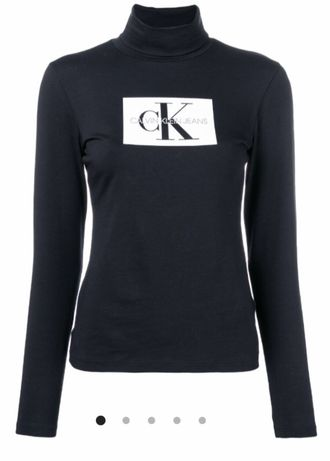 Golf bluzka bluza longsleeve Calvin Klein Jeans